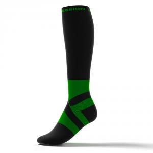 RUNNING ANKLE SUPPORT – schwarz/grün