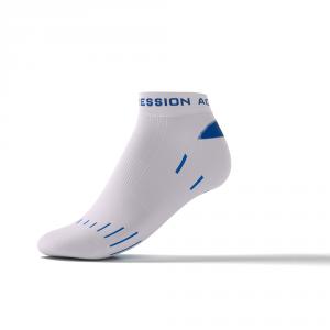 RUNNING SNEAKER LAUFSOCKEN – weiß/blau