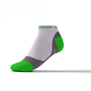 SPEED PERFORMANCE SNEAKER – weiß/grün
