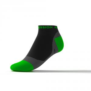 SPEED PERFORMANCE SNEAKER – schwarz/grün
