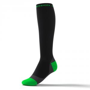 SPEED PERFORMANCE SOCKS – schwarz/grün