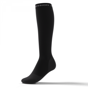 RUNNING ALLROUND SOCKS – sort/grå