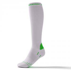 RUNNING ENDURANCE SOCKS – hvid/grøn