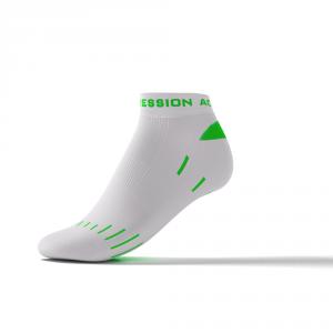 RUNNING ENDURANCE SNEAKER – hvid/grøn