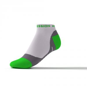 SPEED PERFORMANCE SNEAKER – hvid/grøn