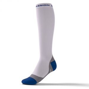 SPEED PERFORMANCE SOCKS – weiß/blau