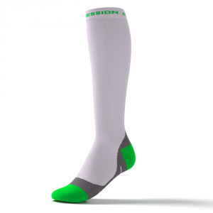 SPEED PERFORMANCE SOCKS – weiß/grün