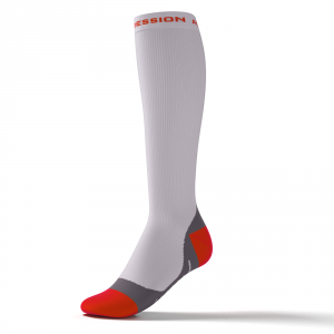 SPEED PERFORMANCE SOCKS – weiß/orange