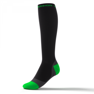SPEED PERFORMANCE SOCKS – schwarz/grün